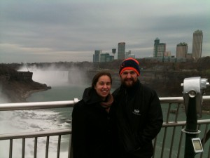 We had a chance to see Niagara Falls on our way back to Colorado